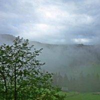 Утренний туманн...Альпы... :: Galina Dzubina