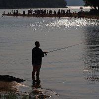 Тёплым летним вечером... :: Александр Попов