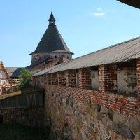 Соловецкий монастырь, сторожевая башня. :: Юрий Колчин