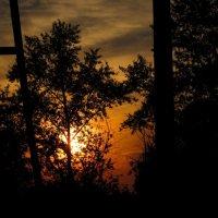 Закат в июле... :: Павел Зюзин