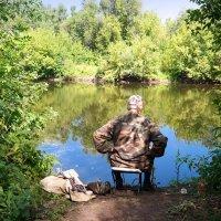 В ожидании клёва.. :: Андрей Заломленков