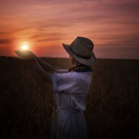 Фото сессия на закате :: Валерий Гришин