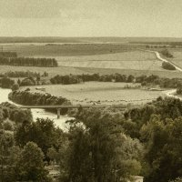 Река Осетр :: Дмитрий Сорокин