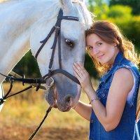 Надя и лошадка :: Екатерина Кузнецова