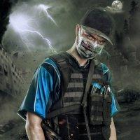 солдат пост-апокалипсиса :: Максим Апрятин