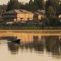Жизнь на реке Онега. :: Марина Никулина