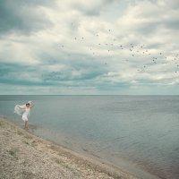 Девушка и море2 :: виктория иванова