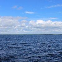 облака над Онежским озером :: Дмитрий Солоненко