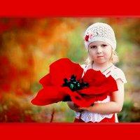 Есть на свете цветок алый-алый..... ) :: Елена Ушакова