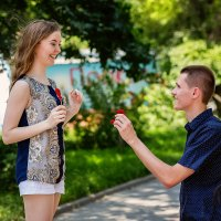 LoveStory Жени и Оли :: Наталья Кузнецова