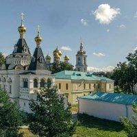 Вид с вала на Елизаветинскую церковь и Успенский собор. :: Анатолий. Chesnavik.