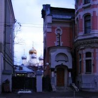 Зачатьевский монастырь вид с Остоженки :: Анна Воробьева
