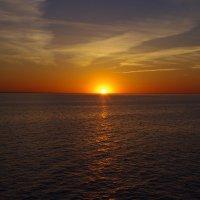 Закат в Белом озере :: Николай Смольников