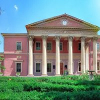 Дворец Потоцких-Нарышкиных, ныне Художественный музей. :: Вахтанг Хантадзе