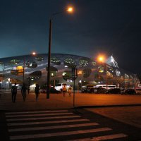 Борисов Арена ночью :: Дмитрий
