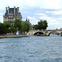 Река Сена.Париж :: Людмила Шнайдер