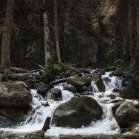 река Уллу-Муруджу. Домбай. :: Леонид Сергиенко