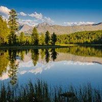 Озеро Киделю на закате. :: Александр Поборчий