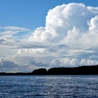 Облака над Мологой :: Александр (Алчи) Шерстнёв