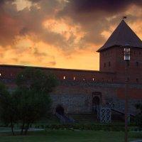 Закат над Лидским замком :: lady-viola2014 -