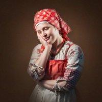 Портрет крестьянки :: Олег Дроздов