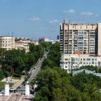 Хабаровск, вид на город с колеса обозрения. :: Виктор Иванович
