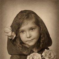 Девочка с розами :: Римма Алеева