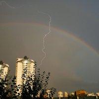молния пробила радугу :: StudioRAK Ragozin Alexey