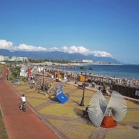 Пляж Роза Хутор :: Tata Wolf