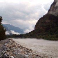 Туман над рекой :: Надежда