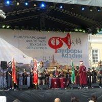 ФЕСТИВАЛЬ ДУХОВЫХ ОРКЕСТРОВ ФАНФАРЫ КАЗАНИ 2017 :: Наиля
