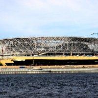 Спортивная арена Победа к ЧМ-2018 по футболу. Волгоград :: Михаил Шабанов