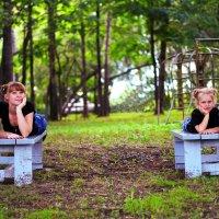 Мама и дочка :: Galina Rastorgueva