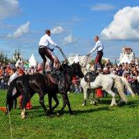 Танец на лошадях :: Анатолий Колосов