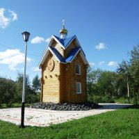 Часовня в п. Преображенский Назаровского района :: Лариса Рогова