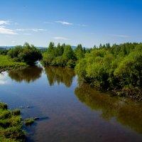 Степная река :: Марина Кириллова