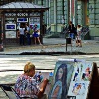 ты рисуй, рисуй ее художник... :: Александр Корчемный