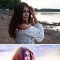 летняя (до и после) :: Veronika G