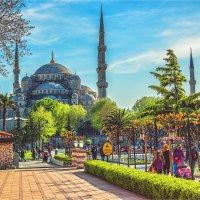 Площадь Султанахмет в Стамбуле :: Ирина Лепнёва