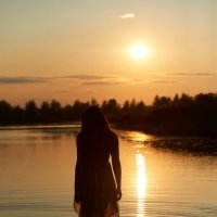 на озере :: Валерий
