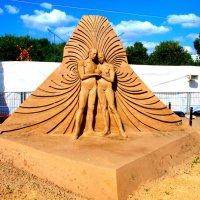 Выставка песчаных фигур в парке Коломенском. :: Владимир Драгунский