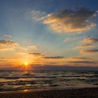 31 авнуста. Прощальный летний закат. :: Tatyana Belova