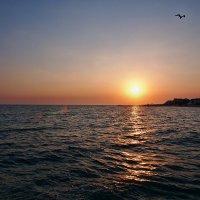 The Box - пляж эмоций. Такие там закаты рисовались... :: Александр Резуненко