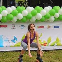 Спортивная разминка ЭкоФест-2014 Фестиваль :: Александр Качалин