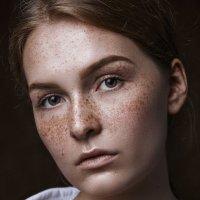 портрет с веснушками :: Katie Voskresenskaia