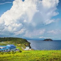 остров, море, сентябрь, Владивосток :: Эдуард Куклин