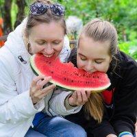 Арбузное лето...! :: Ирина Шарапова