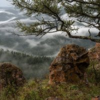 Над облаками. :: Марина Фомина.