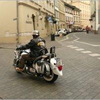 Байкер в Кракове :: Galina Belugina