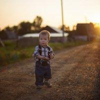 Я шагаю по деревне :: Ирина Лежнева